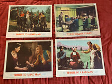 JAMES CAGNEY 2 MOVIES 4 LOBBY CARDS THESE WILDER YEARS TRIBUTE TO A BAD MAN