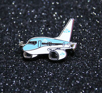 Pin CHUBBY pudgy KLM Royal Dutch Airlines Boeing B737 1 inch / 27mm metal Pin