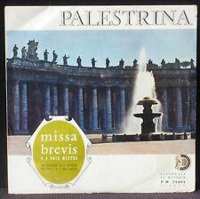 "Palestrina Emile Martin Missa brevis 25 cm 10 "" LP NM -, CV VG++"