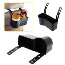 Car Headrest Seat Back Organizer Cup Drink Mount Holder Storage Box Universal