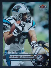 NFL 19 Muhsin Muhammad Carolina Panthers Fleer Ultra 2002