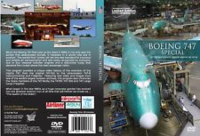 Airutopia Boeing 747 Commercial Special DVD Video-New