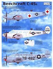 Iliad Decals 1/48 BEECHCRAFT C-45 American Transport Plane