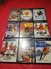 Ps2 Sport packet Playstation 2, 9 Sport games