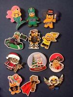 Peccy Pins! Set of 12 Peccy Pins