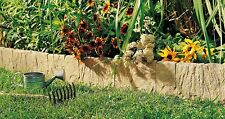 Artificial Realistic Stone Edging Flagstone Weed Barrier Decorative Garden Yard