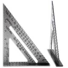 """CARPENTER'S SPEED SQUARE 10"""" X 7"""" COMBO PROTRACTOR MITER FRAMING - FREE SHIPPING"""