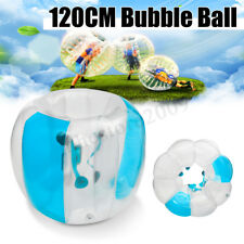 1.2M Body Inflatable Bumper Football Zorb Ball Human Bubble Soccer Kids Adult