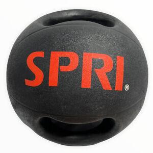 SPRI Xerball Medicine Ball Dual-Grip Handle Thick Walled HD 10lb