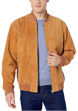 NEW LRG Lifted Research Group Suede Leather Jacket Creative Clothing Company szL