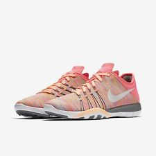 WOMENS NIKE FREE TR 6 AMP TRAINING SHOE 882819 600 NEW NO LID SIZE 10 RACER PINK