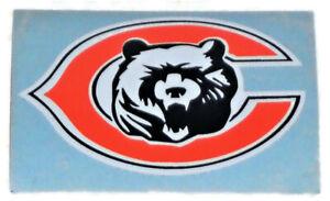 """Chicago Bears NFL Football 1 7/8"""" High x 2 7/8"""" Wide C Bear Logo Sticker Decal 1"""