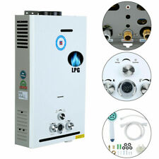 6 - 18L LPG Calentador de Agua Instantáneo de Gas Propano Butano Cocina Ducha