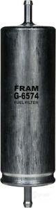 Fuel Filter   Fram   G6574