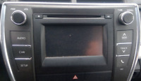 2015 TOYOTA CAMRY AM FM CD PLAYER RADIO RECEIVER W/O NAVIGATION 10803 OEM