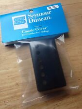 Seymour Duncan Metal Humbucker Pickup Cover Black Powder Coat New