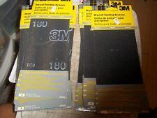 "20 PCS 3M SANDING SCREENS 4-3/8""x11"" MED + FINE 9090NA 9089NA SANDER SCREEN"