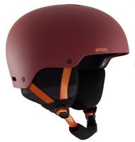 *NEW* Burton ANON RAIDER 3 Helmet Snowboard Ski   Color- DOA RED   size- S