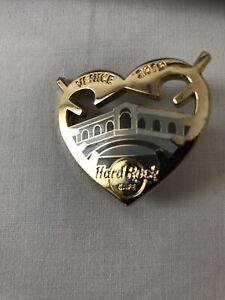 Hard Rock Cafe VENICE Venedig Rialto Bridge Pin NEU City