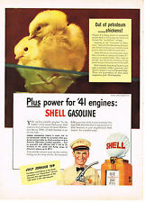 Vintage 1941 Magazine Ad Shell Oil Drive In For Thoro-Fast Service To Lubricate