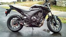 Coffman Shorty Exhaust: Honda CB500F-X 2013-17