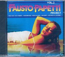 Fausto Papetti vol.3 (2005) CD NUOVO Anima e Core C'era una volta l'America Asia