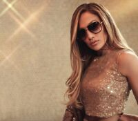 "Quay X JLO ""ALL IN MINI"" Black/Smoke Fade Lens Sunglasses"