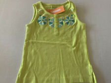 Gymboree Girls Green Shirt 4 Sleeveless NWT