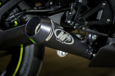 M4 Exhaust Suzuki GSXR1000 2017 GP FULL SYSTEM TITANIUM tubing BLACK muffler