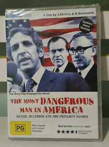 The Most Dangerous Man in America: Daniel Ellsberg and the Pentagon Papers DVD