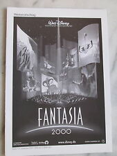 FANTASIA 2000 - Werberatschlag - Walt Disney - Buena Vista International