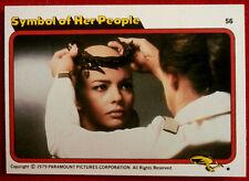 STAR TREK - MOVIE - Card #56 - SYMBOL OF HER PEOPLE, PERSIS KHAMBATTA - TOPPS