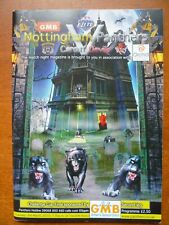 New listing Nottingham Panthers v Cardiff Devils programme (Challenge Cup Final March 2010)