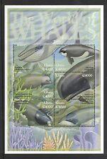 2001 Ghana Whales Sg 3215/3230 Muh Set of 16