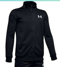 Boys Under Armour Tracksuit Top, Size Youth Large. Worn but good condition,