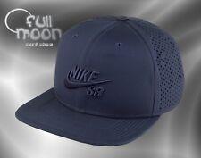 New Nike SB Performance Trucker Mens Navy Snapback Cap Hat