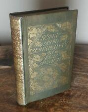 'Sense & Sensibility' by Jane Austen, 1899, George Allen, Chris Hammond
