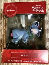 2020 Hallmark Red Box Disney Winnie the Pooh Eeyore Christmas Tree Ornament New