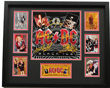 New AC DC Signed Black Ice Limited Edition Memorabilia