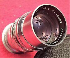 VINTAGE ASAHI KOGAKU 1:3.5 f = 100mm TAKUMAR FOR M37 ASAHIFLEX - MINT!!