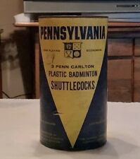 Vintage  PENNSYLVANIA BADMINTON SHUTTLE COCKS   Original container  England