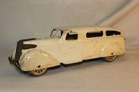 Wyandotte, 1930's Ambulance with Tin Artillery Spoked Wheels,  Original