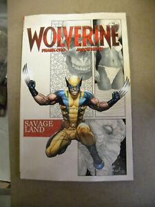 Marvel  2021 Frank Cho WOLVERINE SAVAGE LAND tpb NEW reg $20 qq
