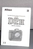 Nikon Genuine D2H Digital Camera User Guide / Manual / Instruction Book