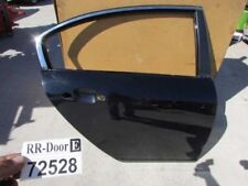13 14 Hyundai Genesis sedan right passenger rear back door shell black panel oem