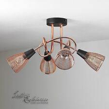 plafonnier en cuivre ø47cm vintage lumière COUVERTURE plafonnier NEUF éclairage