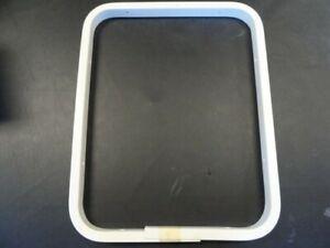 """SEA RAY TRIM RING 192440-300004 WHITE PVC 21-1/2"""" X 17"""" MARINE BOAT"""
