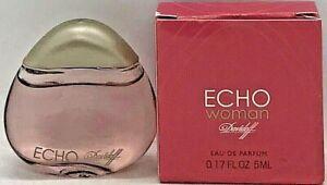 💝 Davidoff ECHO Woman Eau de Parfum Miniatur 5 ml OVP / NEU