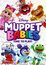 Disney Muppet Babies DVD Time To Play 12 Episodes 10 Bonus Shorts 6 Music Videos