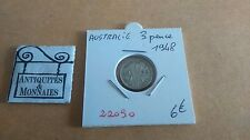 AUSTRALIA 3 PENCE 1948 - OLD AUSTRALIANO COIN - REF22090